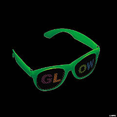 Glow-in-the-Dark Glow Pinhole Glasses