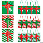 Large Wrapped Present Totes