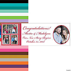 Medium Quadruple Image Custom Photo Banner