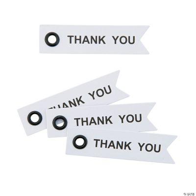 Thank You Eyelet Tags