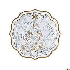 Enchanted Christmas Dinner Plates