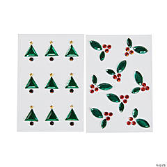 Christmas Gem Stickers
