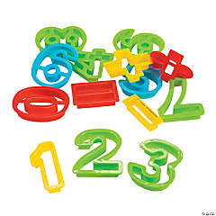Number Clay & Dough Cutters