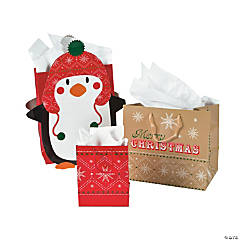 Nordic Penguin Gift Bag Assortment