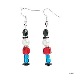 Nutcracker Beaded Earring Craft Kit