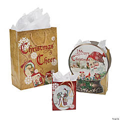 Nostalgic Santa Gift Bag Assortment