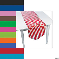 Chevron & Polka Dot Table Runner