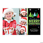 Christmas Tree Custom Photo Christmas Cards