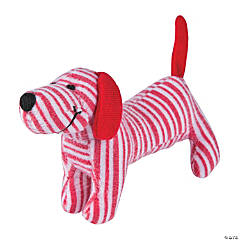 Plush Christmas Dachshund
