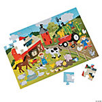 Large Farm Animals Puzzle