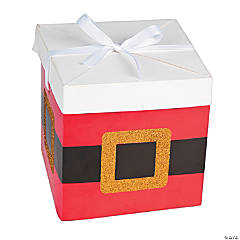 Santa Pop-Up Favor Boxes