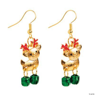 Cute Reindeer Earrings Craft Kit