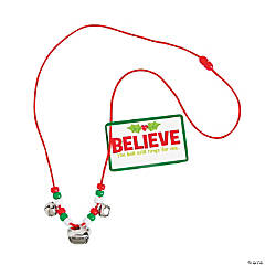 Believe Bell Necklace Craft Kit