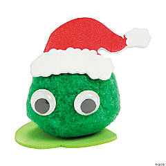Green Merry Monster Pom-Pom Craft Kit