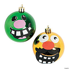 Silly Face Ornament Decorating Craft Kit