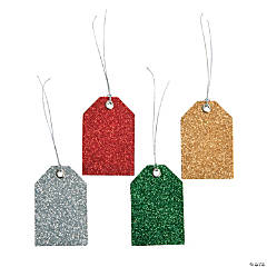 Glitter Gift Tags