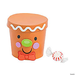 Gingerbread Man Treat Container Craft Kit