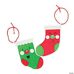 Jolly Stockings Ornament Craft Kit