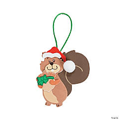 Christmas Squirrel Ornament Craft Kit