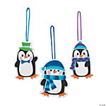 Winter Penguin Ornament Craft Kit