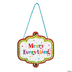 Merry Everything Ornament Craft Kit