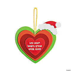 Growing Heart Ornament Craft Kit