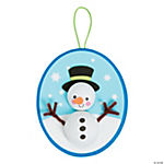 3D Snowman Ornament Craft Kit