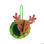 3D Reindeer Christmas Ornament Craft Kit