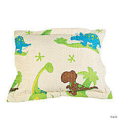 That's How We Rawr Snooze-a-saurus Dinosaur Pillow Sham