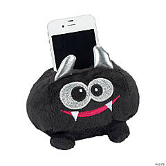 Plush Black Monster Cell Phone Holder