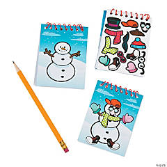 Decorate-a-Snowman Notepads