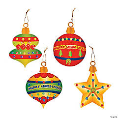 Christmas Ornament Sticker Scenes