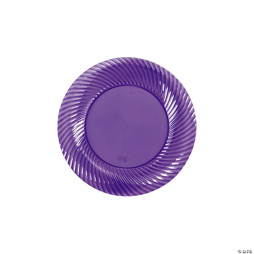 sc 1 st  Marry Me by Oriental Trading. & Lilac Plastic Dessert Plates
