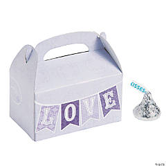 Mini Lilac Love Treat Boxes