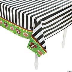 1st Birthday Touchdown Tablecloth