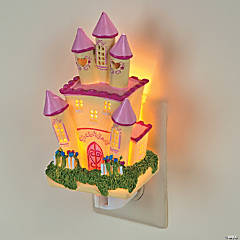 Her Mini Majesty Lighten Up Princess Castle Night Light