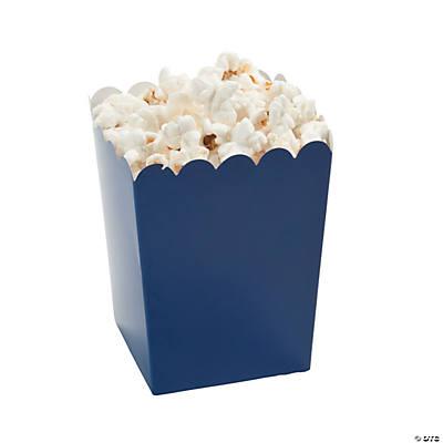 Mini Navy Blue Popcorn Boxes, Popcorn Boxes, Party Bags ...