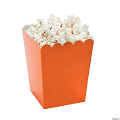 Mini Pumpkin Popcorn Boxes