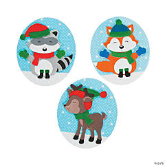 Winter Woodland Magnet Christmas Craft Kit