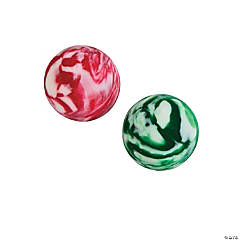 Holiday Swirl Bouncing Balls