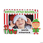 Santa's Little Helper Picture Frame Magnet Christmas Craft Kit
