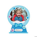 Snow Globe Picture Frame Magnet Christmas Craft Kit