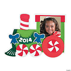 2014/2015 Christmas Train Picture Frame Magnet Christmas Craft Kit