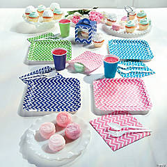 Easter Chevron Party Supplies