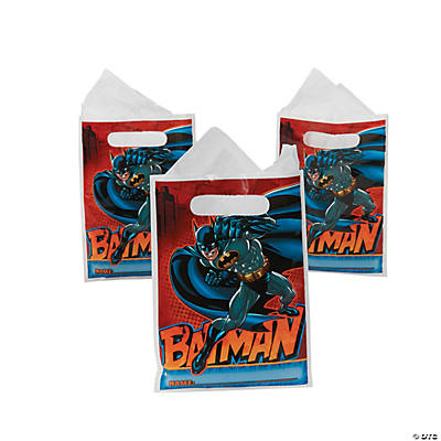 Batman Heroes Favor Bags