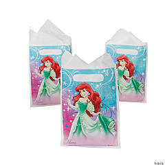 Disney Princess Little Mermaid Sparkle Favor Bags