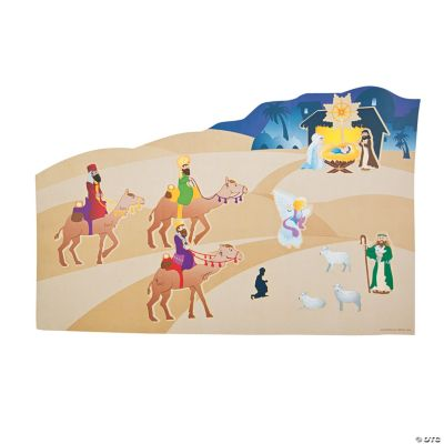 Road to Bethlehem Large Sticker Scenes