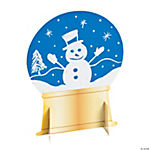 Magic Color Scratch Snow Globe Stand-Ups