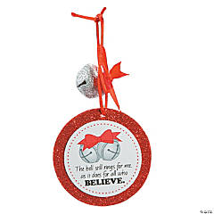 Believe Bell Ornament Craft Kit