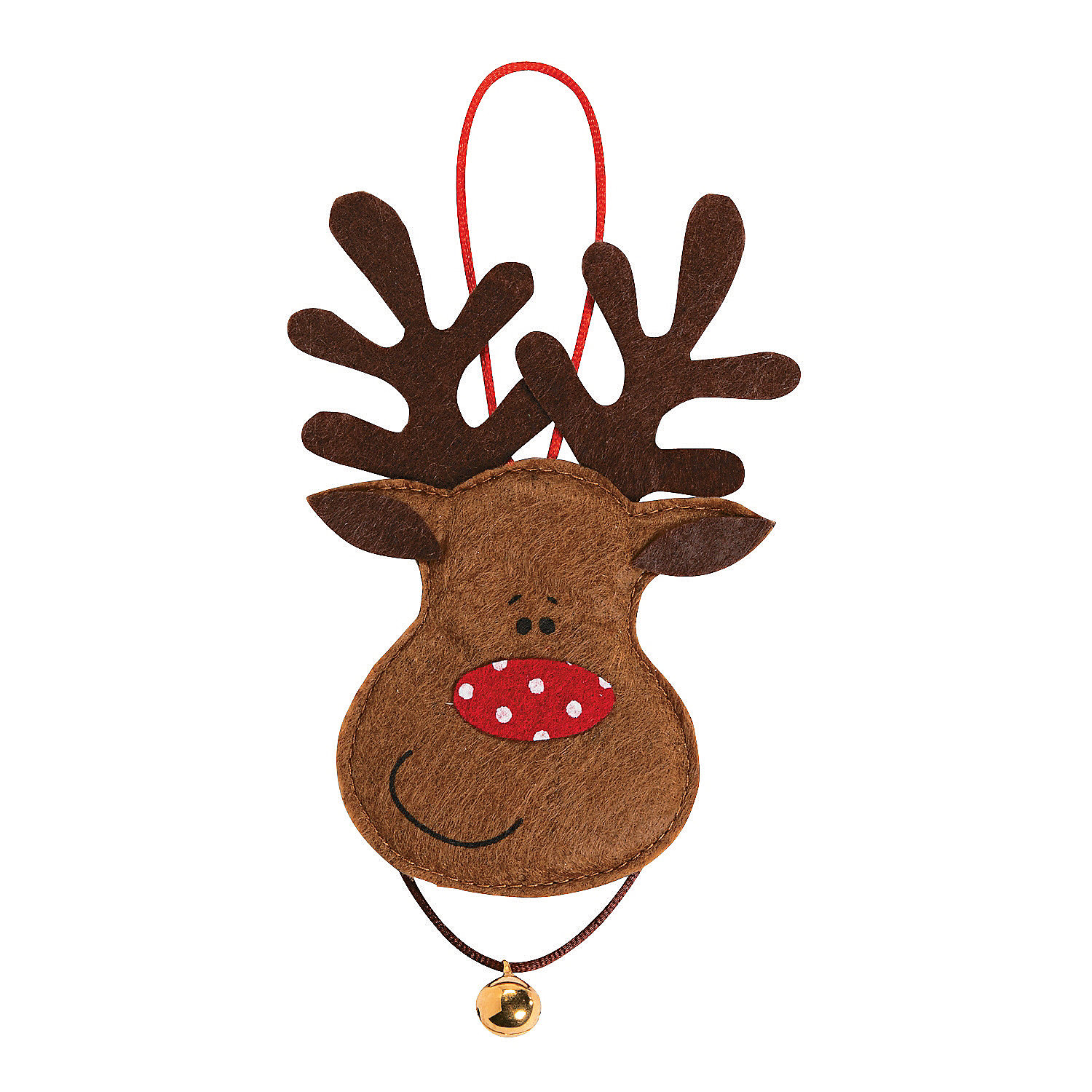 Reindeer ornament craft kit ornament crafts adult crafts for Reindeer project